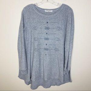 Project Social T Gray Sweatshirt